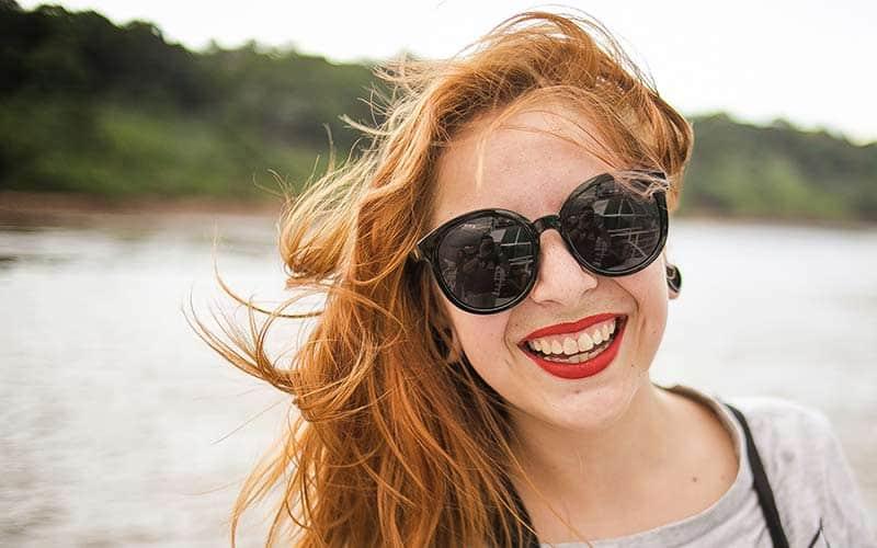 Solglasögon efter ögonlaser