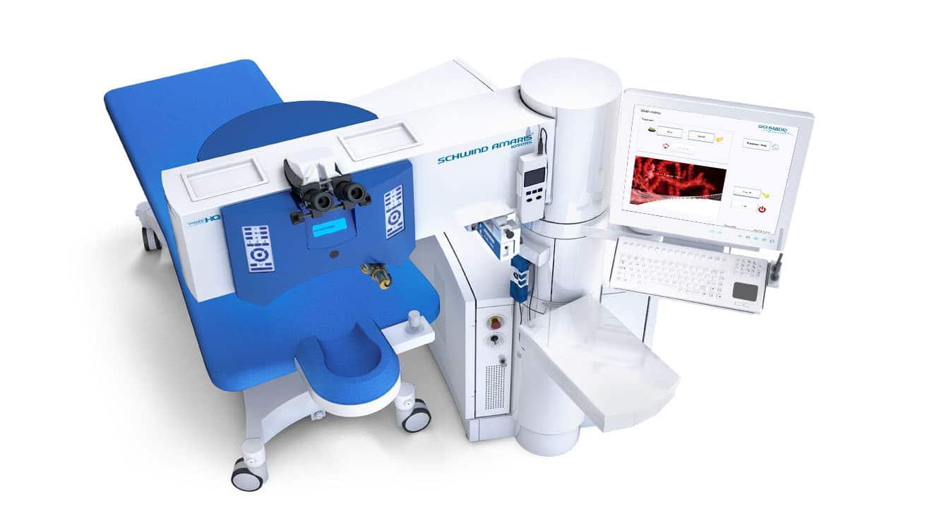 Laserkorrigering för RLE linsbyte